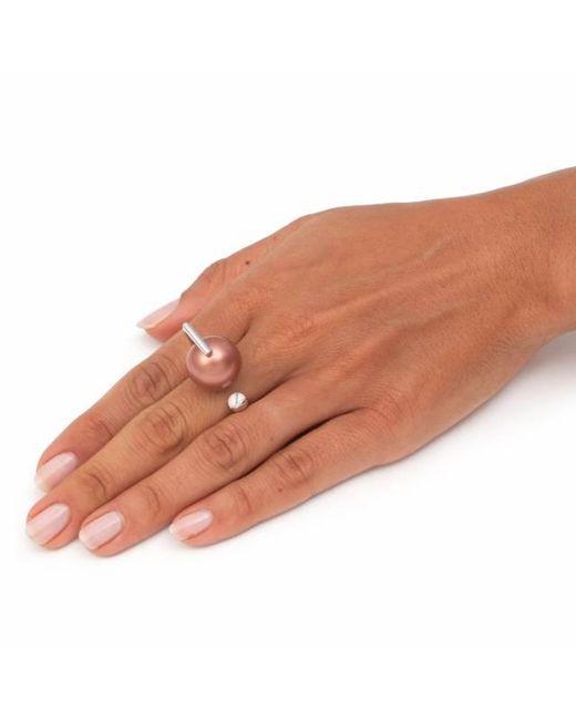 Leivan Kash | Yan White Rhodium Ring | Lyst