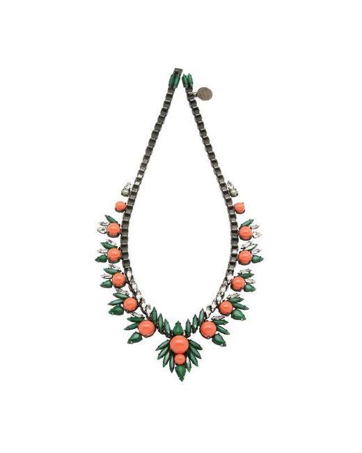 Ellen Conde - Orange Khloè Coral Necklace - Lyst