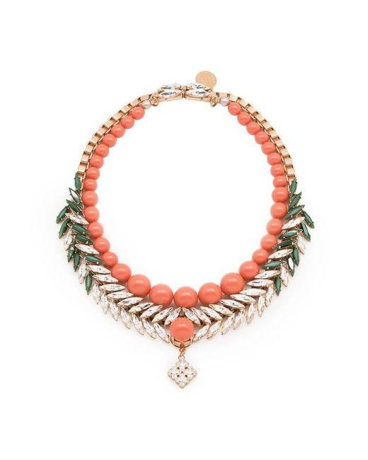 Ellen Conde   Multicolor Bettie Coral Necklace   Lyst