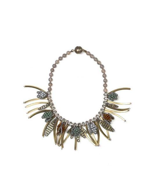 Tataborello | Metallic Summer Place Tassel Charm Necklace 21 | Lyst
