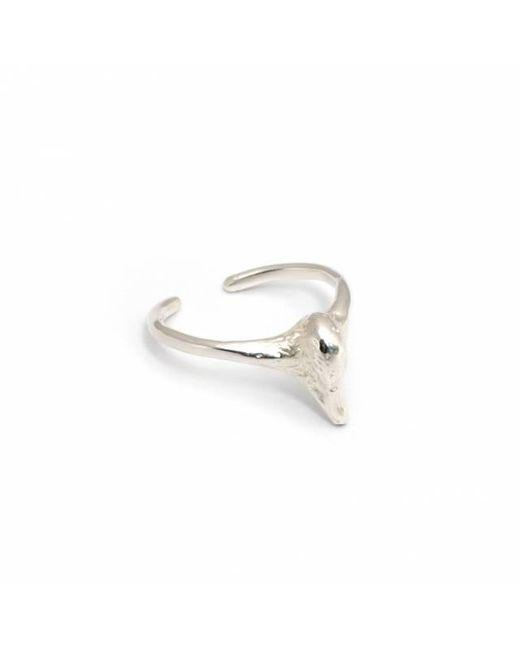 Leivan Kash | Metallic Swan Pinky Midi Ring | Lyst