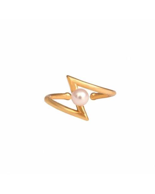 Leivan Kash   Multicolor Occhiu Gold Midi Ring   Lyst