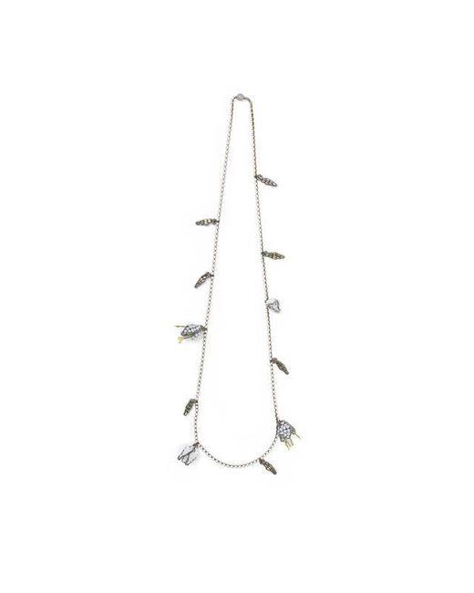 Tataborello | White Layering Beaded Necklace 26 | Lyst