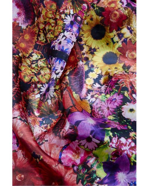 Kekkai - Multicolor Trippin In Ibiza Silk Scarf - Lyst