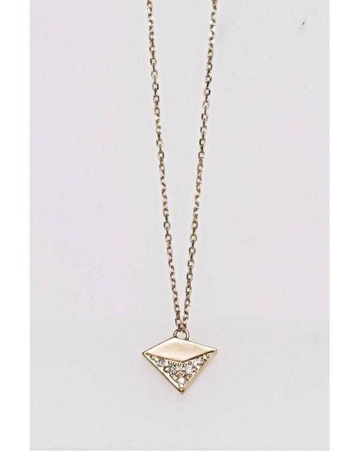 Liza Belachew | Metallic Share The Art Diamond No8 Necklace | Lyst