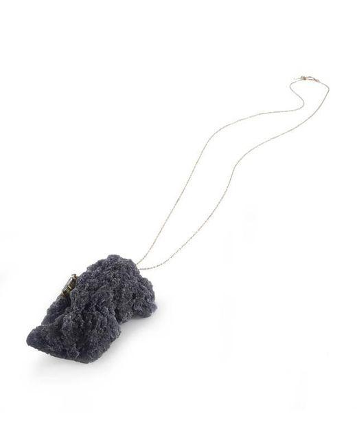 Noritamy | Etna Black Polymer Pendant Necklace | Lyst