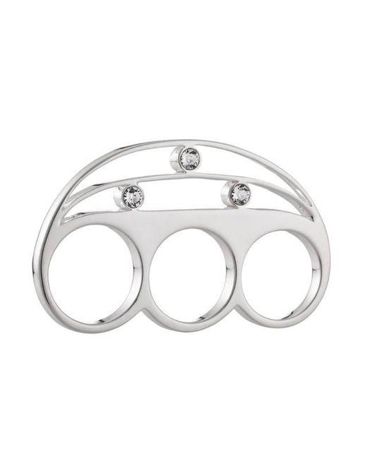 Yael Salomon - Metallic Stelle 01 Three Finger Silver Ring - Lyst