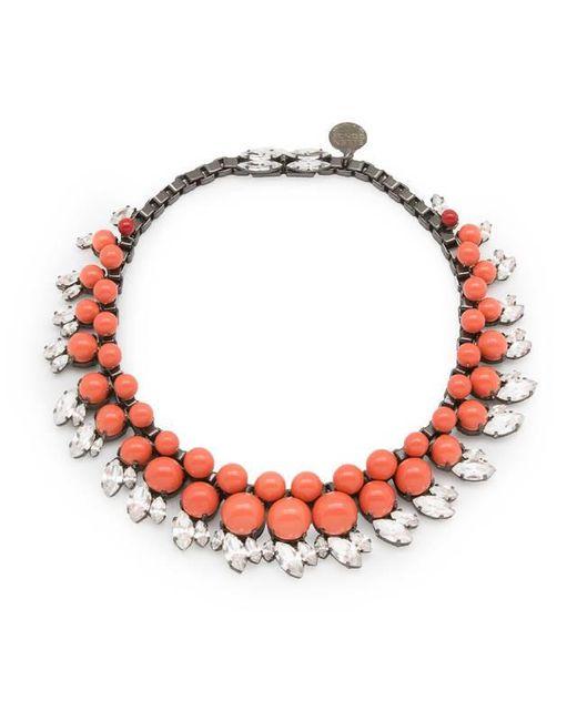 Ellen Conde | Pink Colette Coral Necklace | Lyst