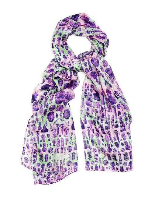 Kekkai | Purple Ancient Reflections 1 Silk Scarf | Lyst