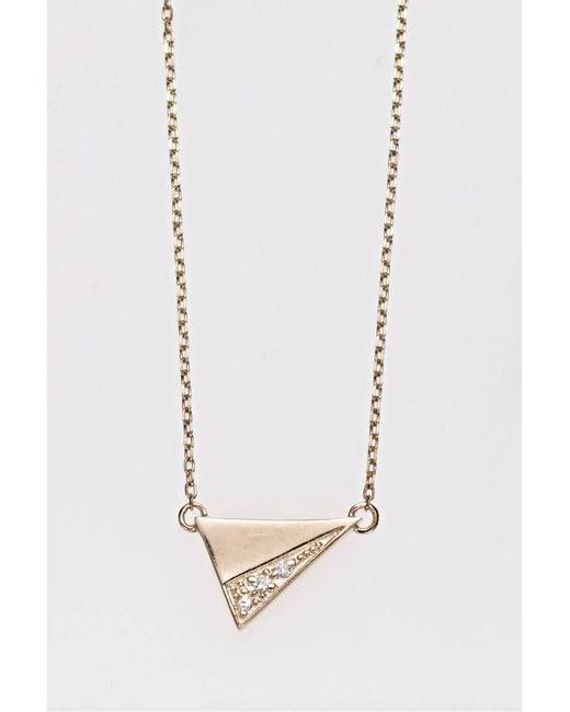 Liza Belachew | Metallic Share The Art Diamond No6 Necklace | Lyst