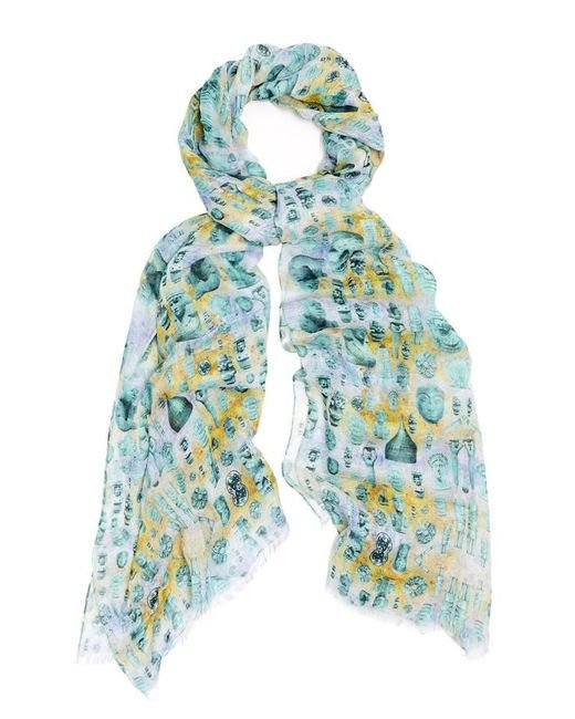 Kekkai | Blue Ancient Reflections 2 Cashmere Blend Scarf | Lyst