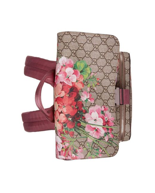 bb6f8a0caee0 ... Gucci - Multicolor GG Blooms Backpack - Lyst ...