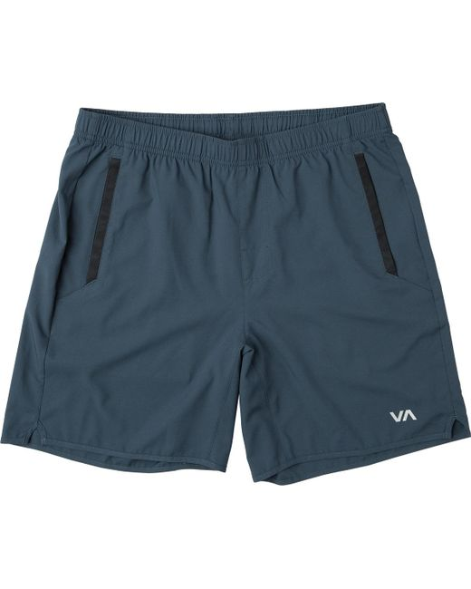 RVCA - Blue Yogger Iii Short for Men - Lyst