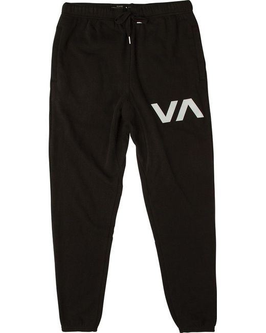 RVCA - Black ​the Swift Sweat Pant for Men - Lyst