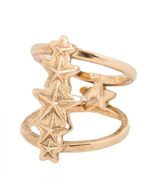 Pamela Love | Metallic Ursa Minor Ring In Antique Gold | Lyst