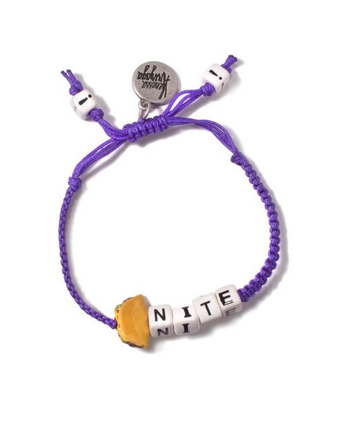 Venessa Arizaga | Purple Taco Night Friendship Bracelet | Lyst