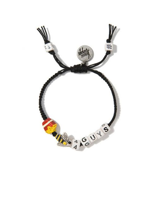 Venessa Arizaga | Black 'Fries Bee-4 Guys' Bracelet | Lyst