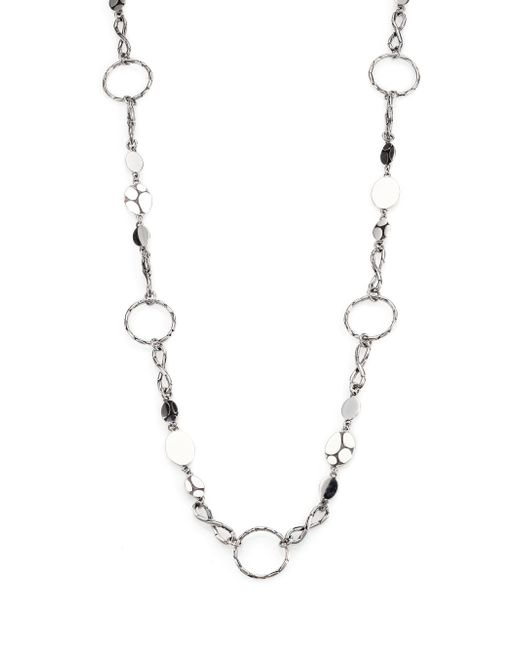 John Hardy | Metallic Kali Sterling Silver Menari Station Necklace | Lyst