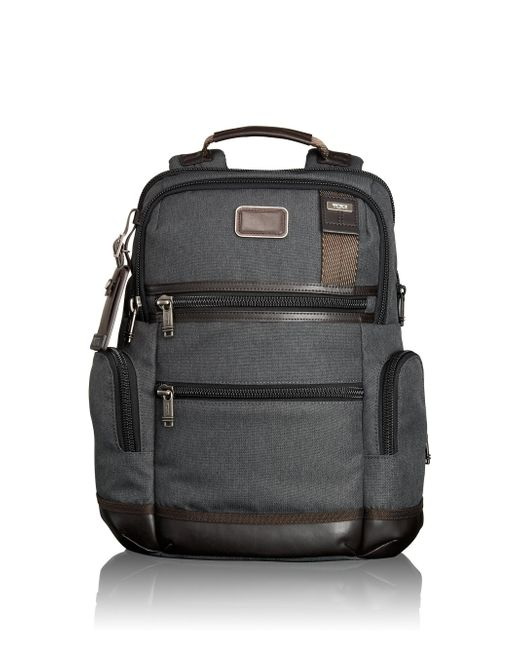 Tumi | Gray Alpha Bravo Knox Backpack for Men | Lyst