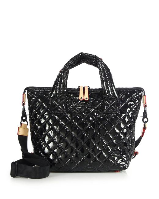MZ Wallace | Black Small Sutton Tote | Lyst
