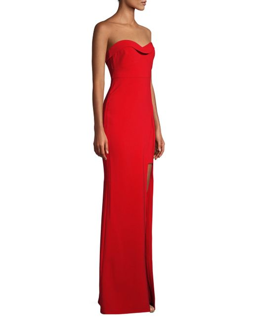 Likely - Ella Gown In Red - Lyst