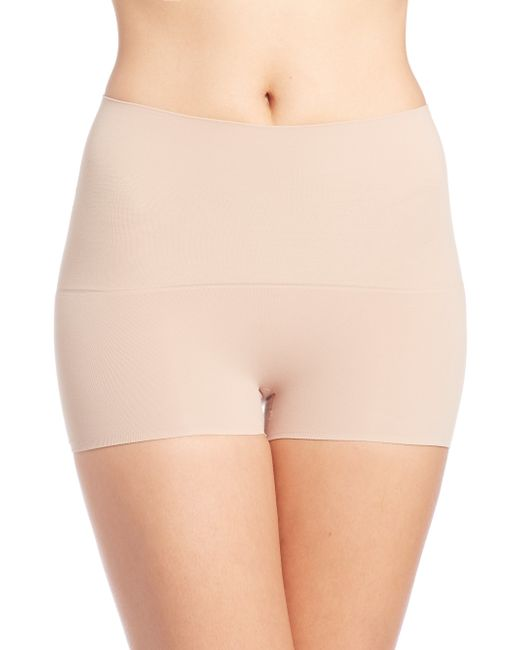 Spanx | Natural Power Shorty | Lyst