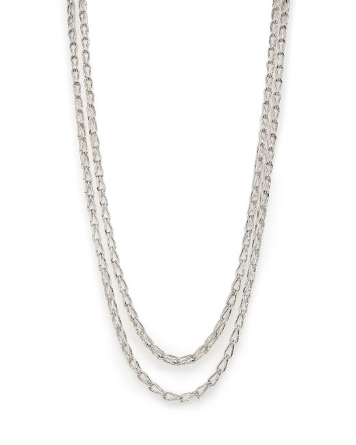 John Hardy | Metallic Bamboo Sterling Silver Long Sautoir Necklace | Lyst