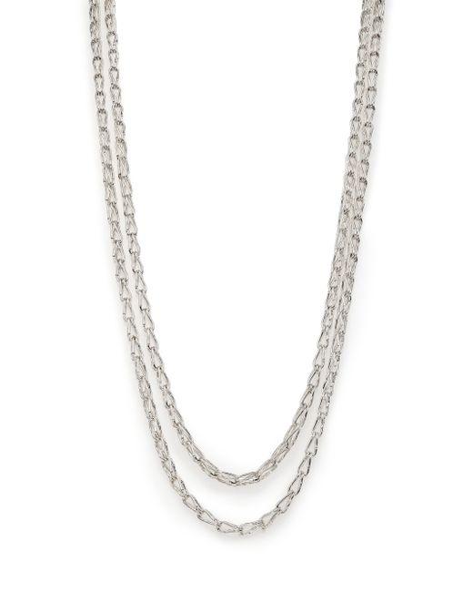 John Hardy | Metallic Bamboo Sterling Silver Long Sautoir Necklace | Lyst