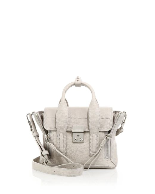 3.1 Phillip Lim | Natural Pashli Mini Leather Satchel | Lyst