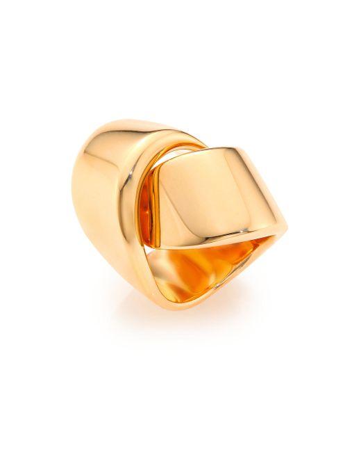 Vhernier | Pink Abbraccio 18k Rose Gold Ring | Lyst