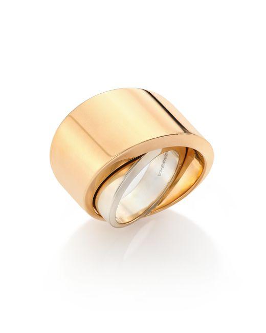 Vhernier   Pink Tourbillon 18k Rose Gold Ring   Lyst