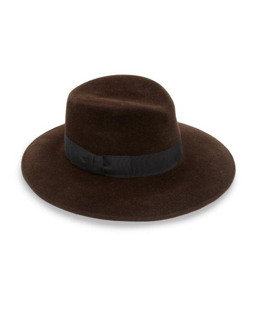 Eric Javits   Brown Zora Milled Rabbit Hair Hat   Lyst
