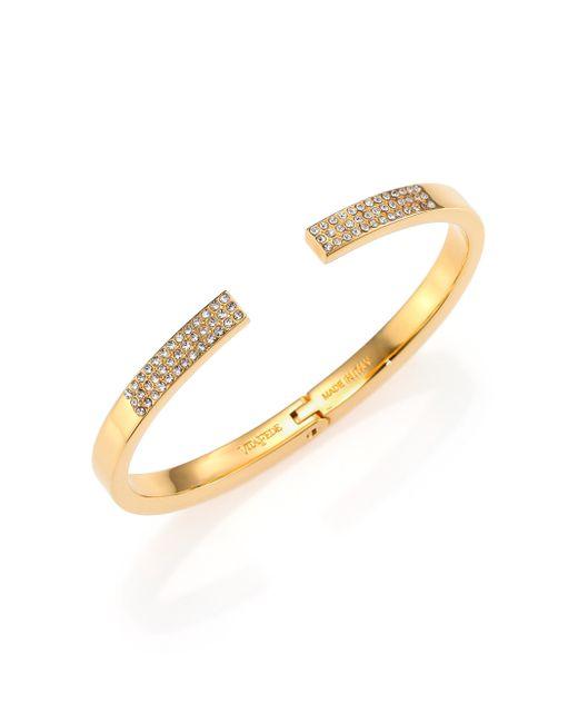 Vita Fede | Yellow Divisio Crystal Cuff Bracelet/goldtone | Lyst