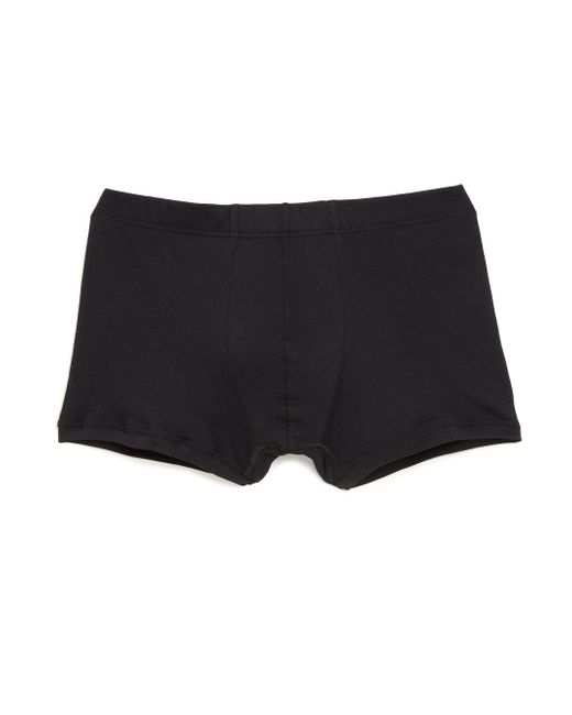 Hanro | Black Sea Island Cotton Cotton Boxer Briefs for Men | Lyst