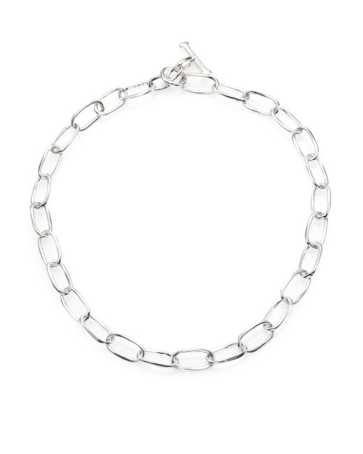 Ippolita | Metallic Glamazon Sterling Silver Oval Link Toggle Necklace | Lyst