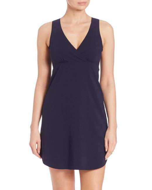 Naked | Black Essential Cotton Chemise | Lyst
