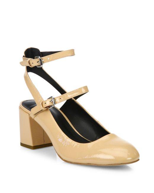 Rebecca Minkoff | Purple Brooke Patent Leather Mary Jane Block Heel Pumps | Lyst