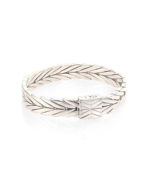 John Hardy | Metallic Modern Chain Sterling Silver Bracelet | Lyst
