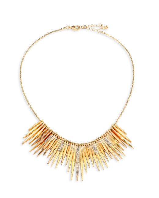 ABS By Allen Schwartz | Metallic Going Coastal Bar Frontal Necklace | Lyst