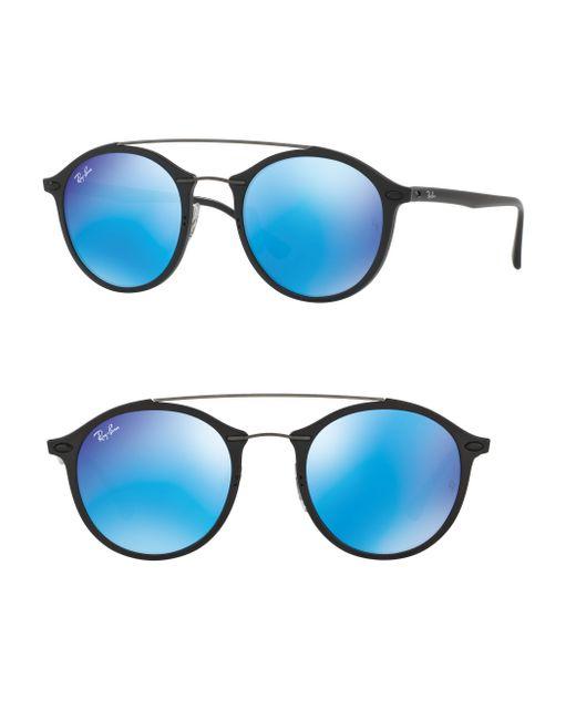 36884613fff Double Bridge Aviator Sunglasses Ray Ban