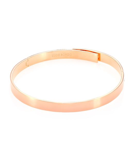 Eddie Borgo | Multicolor Safety Chain Choker Necklace/rose Goldtone | Lyst