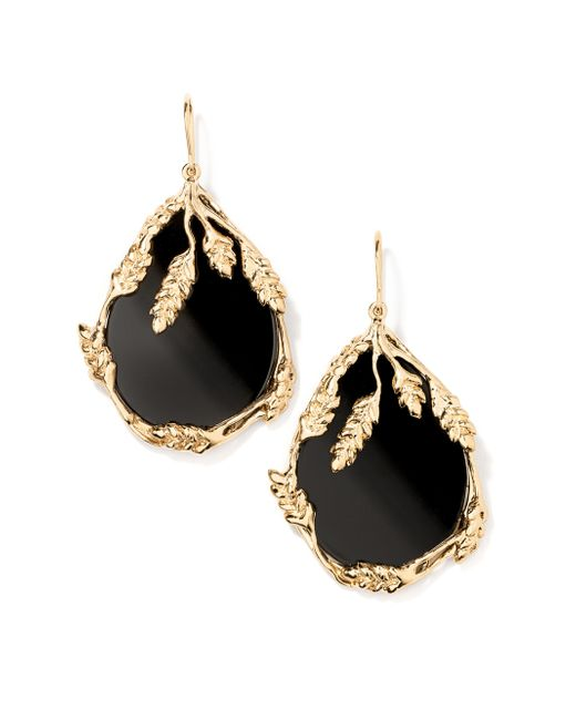 Aurelie Bidermann | Black Francoise Earrings | Lyst