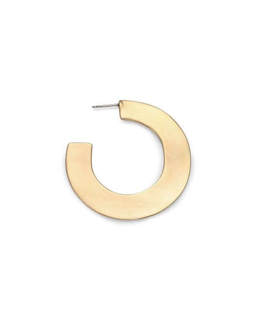 Alexis Bittar | Metallic Liquid Metal Orbital Hoop Earrings/1.8 | Lyst
