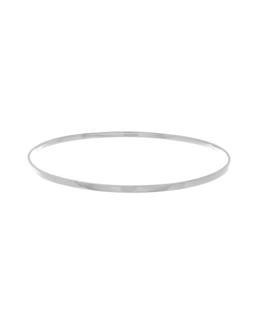 Lana Jewelry | Multicolor Small Vanity 14k White Gold Bangle Bracelet | Lyst