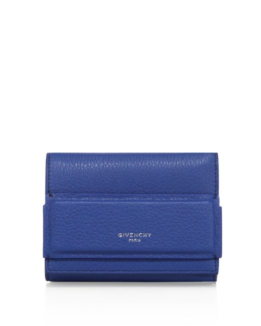 Givenchy | Blue Horizon Trifold Leather Wallet | Lyst