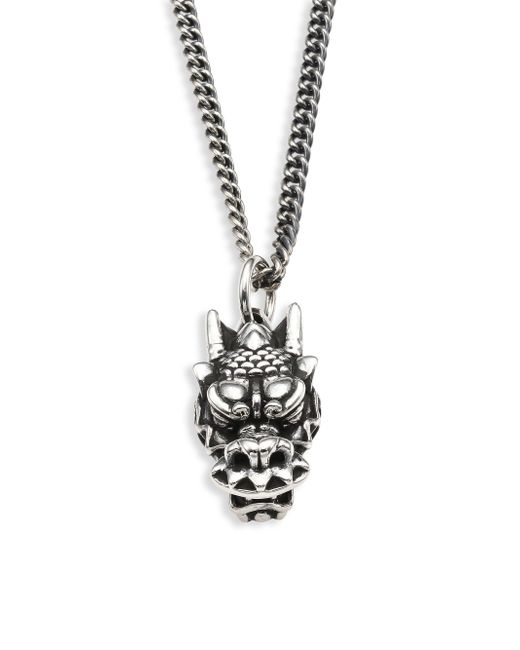 King Baby Studio   Metallic Sterling Silver Necklace   Lyst