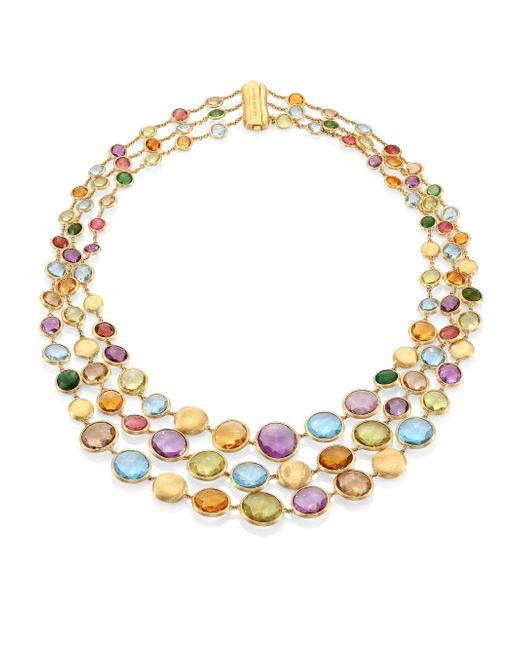 Marco Bicego | Metallic Jaipur Semi-precious Multi-stone Necklace | Lyst