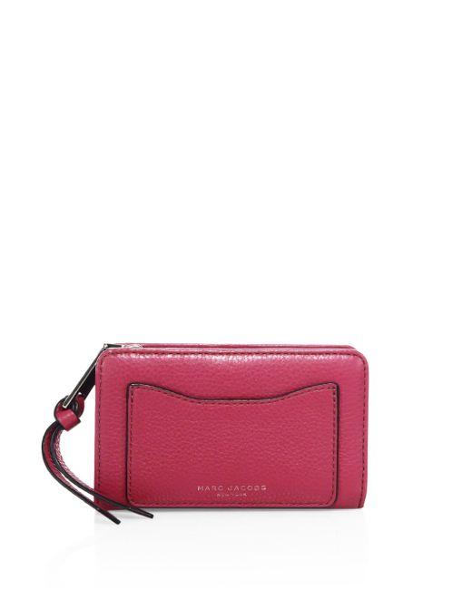 Marc Jacobs | Multicolor Recruit Leather Wallet | Lyst