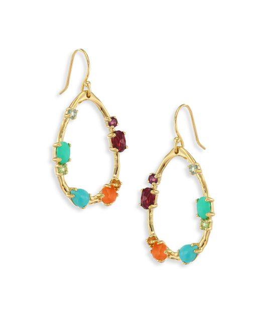Ippolita | Metallic 18k Rock Candy Semi-precious Multi-stone Medium Frame Earrings | Lyst