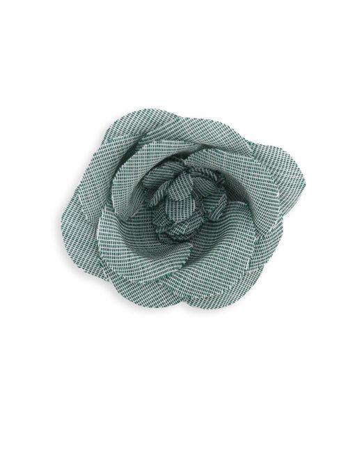 Hook + Albert | Green Rose Tie Pin | Lyst